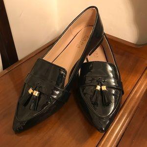 ZARA Blue Tasseled Loafers